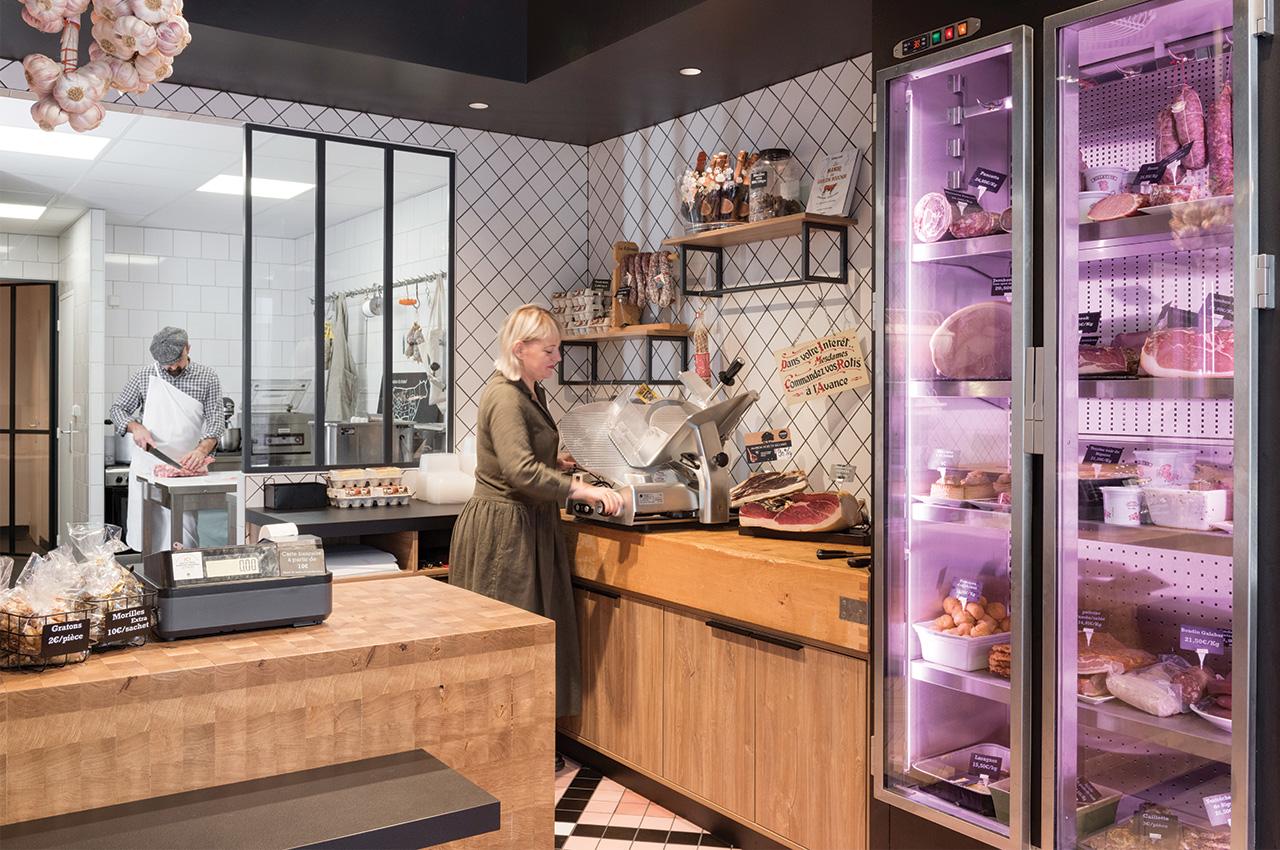 Installations et équipements dans la boucherie Pinatel par AC2R