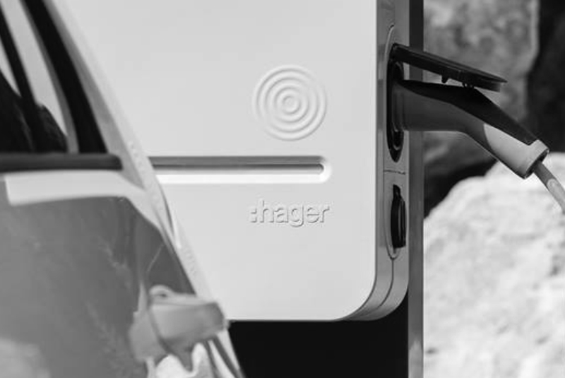 borne recharge hager ac2R
