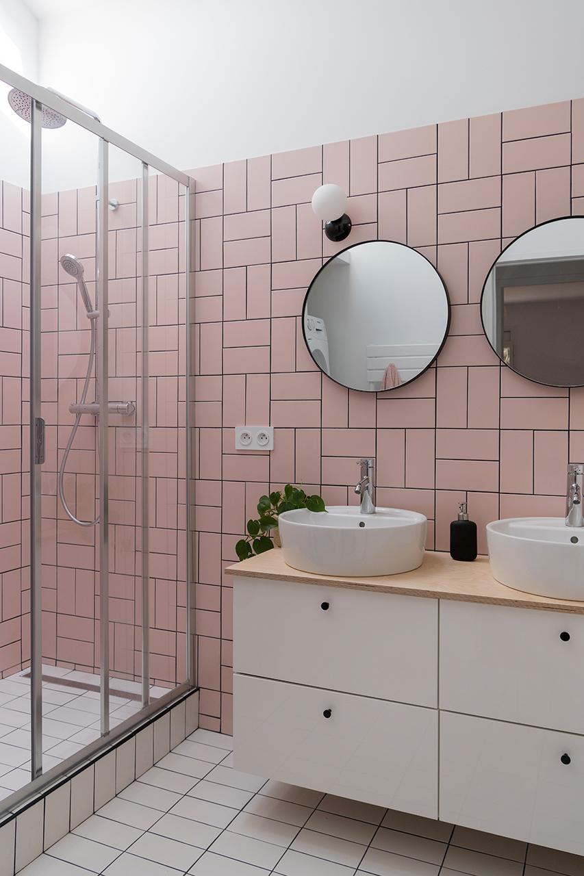Salle de bain, éclairage par AC2R