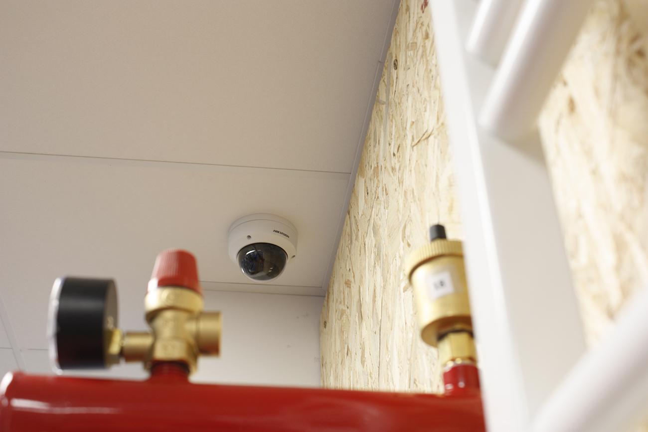 Vidéo-surveillance installée par AC2R dans un magasin
