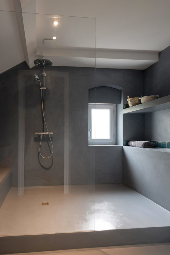 Cette image illustre la rénovation d'un appartement à la croix-rousse réalisée par AC2R