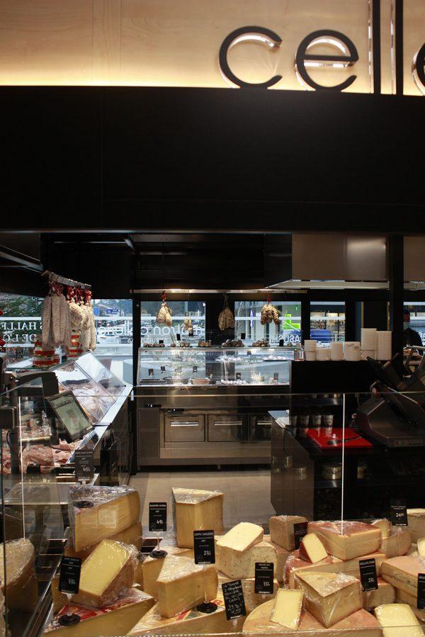 équipement électrique d'une épicerie fine